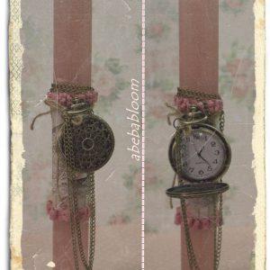 Πασχαλινή λαμπάδα ρολόι
