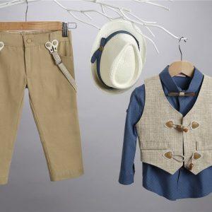 Βαπτιστικό κοστούμι 2405-1-2-3