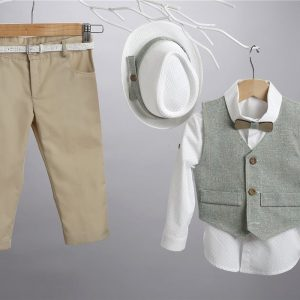 Βαπτιστικό κοστούμι 2407-1