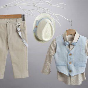 Βαπτισικό κοστούμι 2419-1-2-3