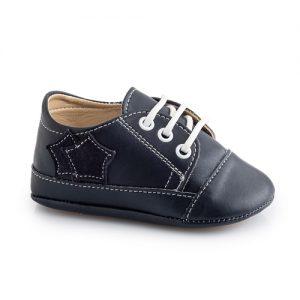 Βαπτιστικό παπούτσι αγορίστικο αγκαλιάς Μ107-1-2-3