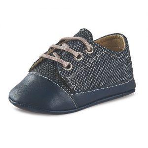 Βαπτιστικό παπούτσι αγκαλιάς αγορίστικο Μ97-1-2
