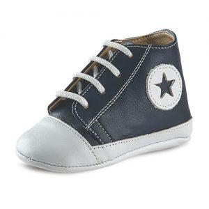 Βαπτιστικό παπούτσι αγκαλιάς αγορίστικο Μ98-1-2