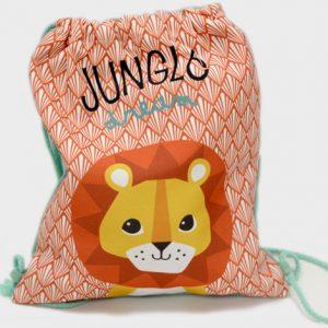 Πάνινη τσάντα πλάτης ζωάκια του δάσους