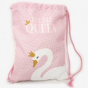 Κοριτσίστικη τσάντα πλάτης κύκνος
