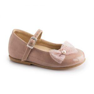 Βαπτιστικό παπούτσι μπαλαρίνα 2234-1-2-3-4