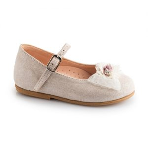 Βαπτιστικό παπούτσι μπαλαρίνα 2236-1-2-3