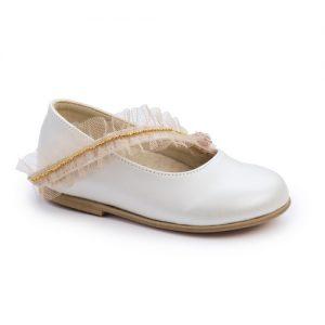 Βαπτιστικό παπούτσι μπαλαρίνα 2247-1-2