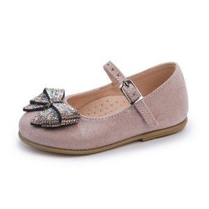 Βαπτιστικό παπούτσι μπαλαρίνα 2256-1-2